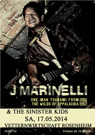 J Marinelli & The Sinister Kids
