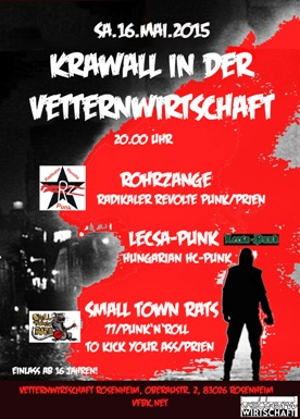 Krawall in der Vettern