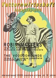 Robin Masters and The Voodoohounds